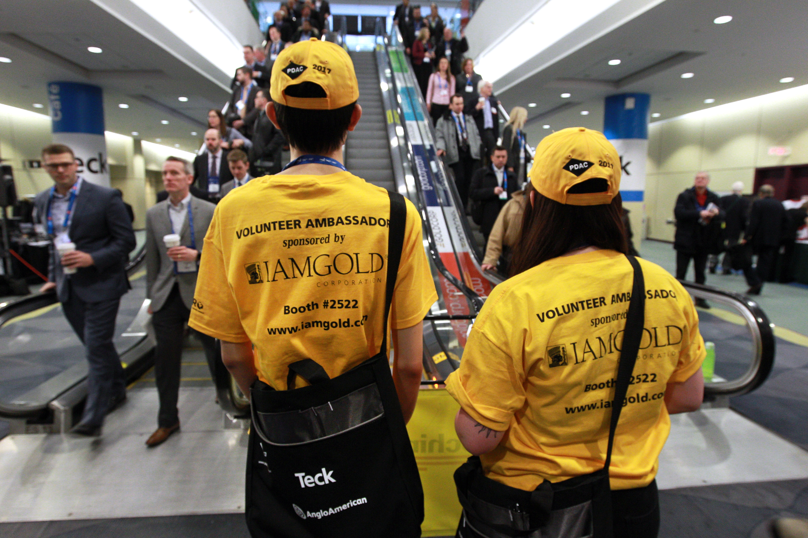Convention Ambassadors sponsored by IAMGOLD Corporation