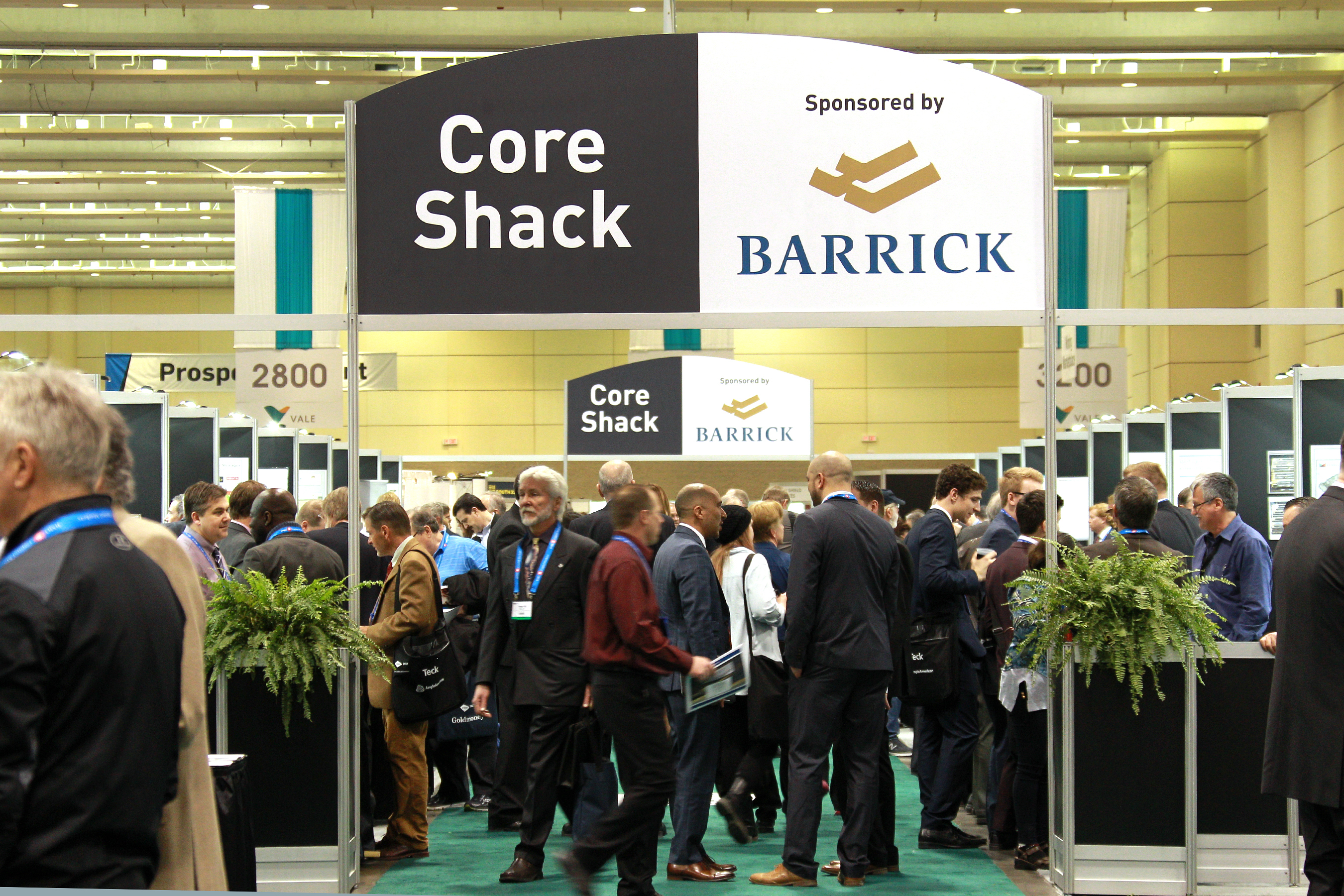 Core Shack sponsored by Barrick Gold Corporation
