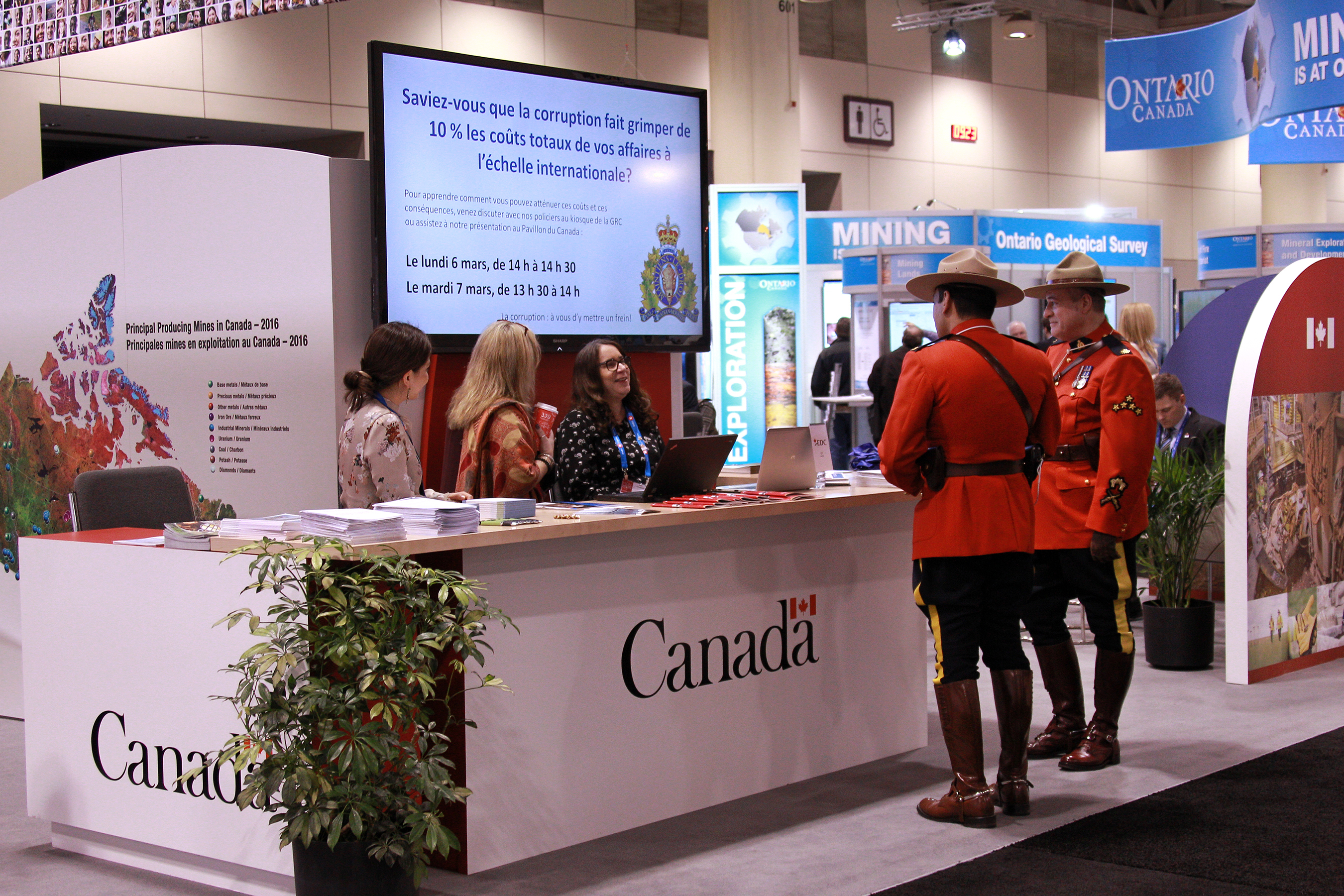 Government of Canada Pavilion, Trade Show