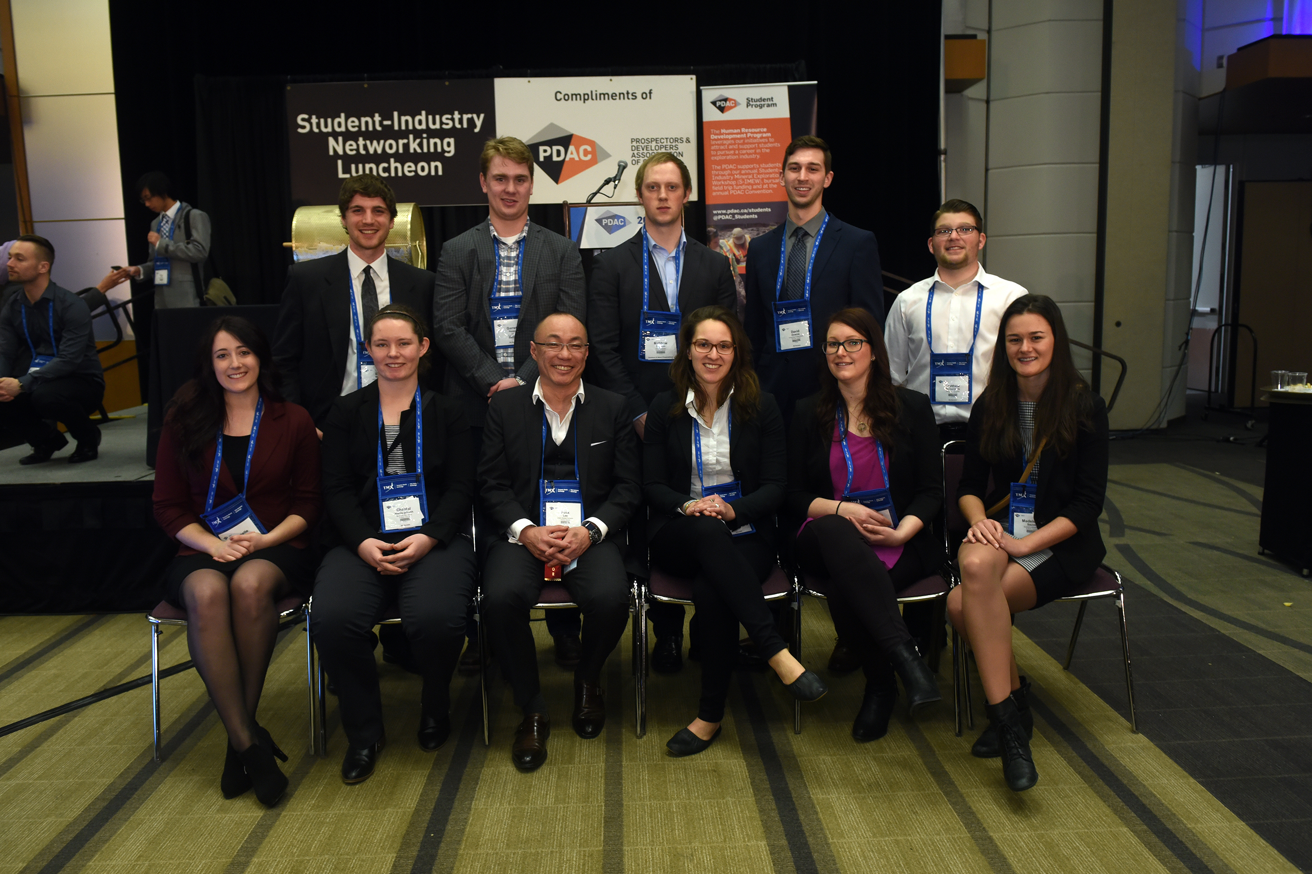 Student-Industry Networking Luncheon, Felix Lee, CSA Global Canada et al