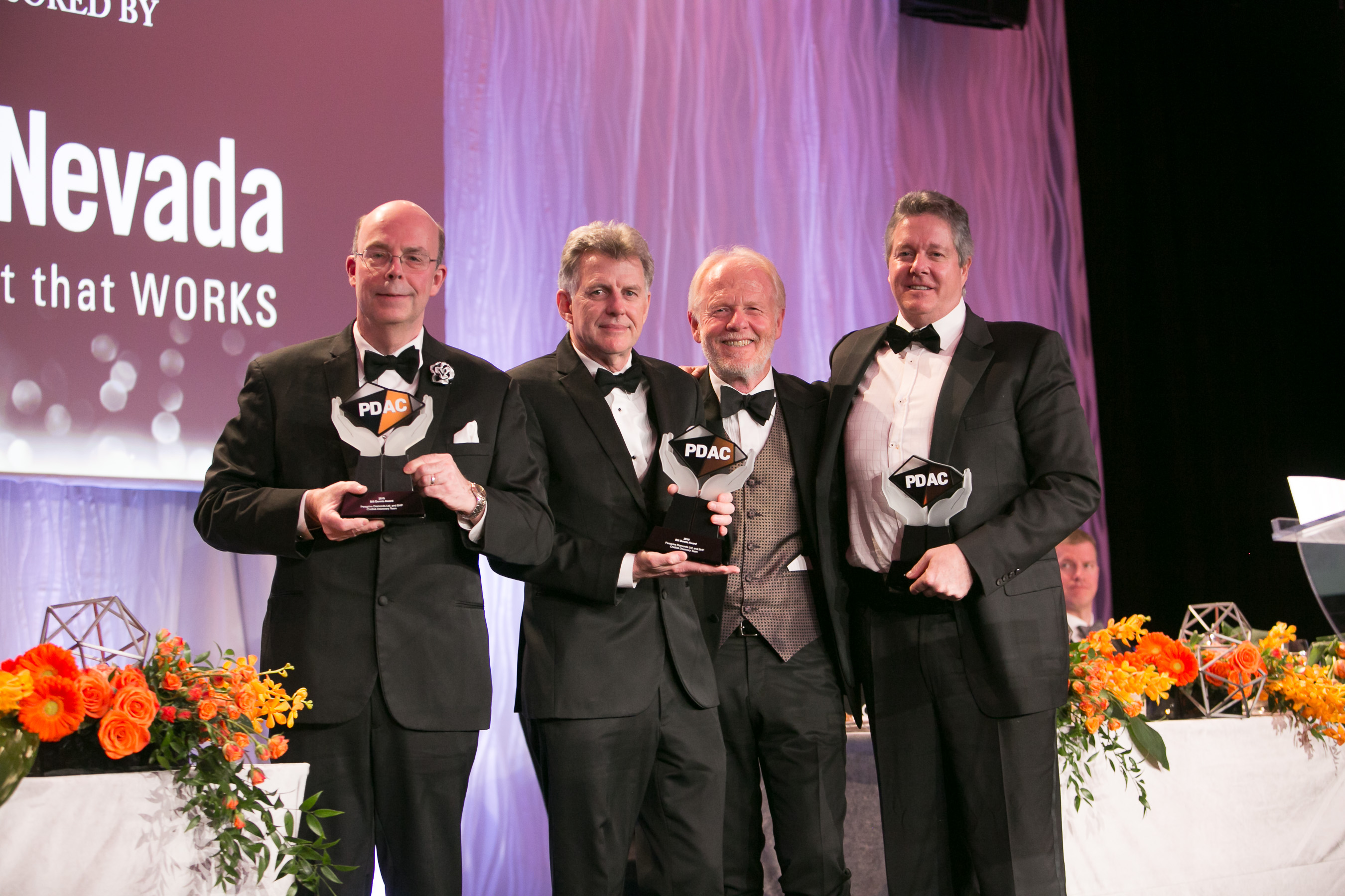 Bill Dennis Award - Peregrine Diamonds Ltd and BHP, Chidliak Discovery Team