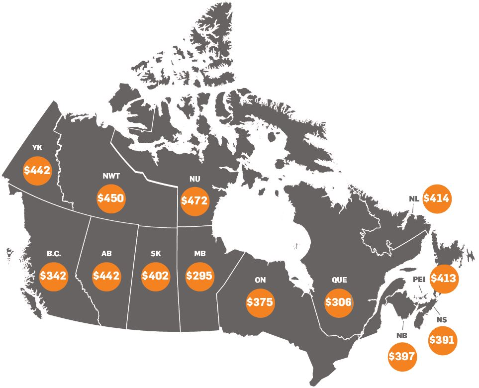 Canada_Net cost map