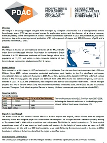 Thompson Creek Metals Case Study